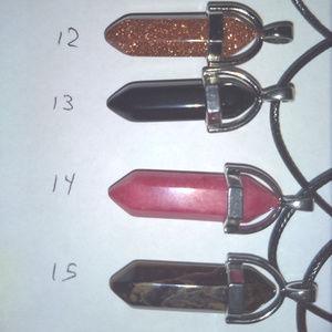Jewelry - REIKI CHAKRA NECKLACE  Healing Gemstone Crystal